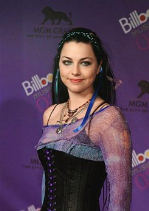 Amy Lee Bra Size is 34B