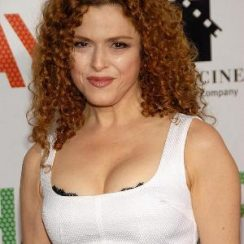 Bernadette Peters Bra Size is 35C