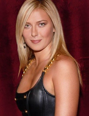 Maria Sharapova Bra Size is 32B