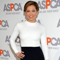 Ginger Zee measurements and bra size